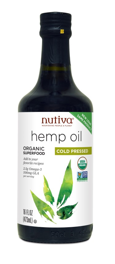 Organic Hemp Oil Cold Pressed 473ml (Currently Unavailable)