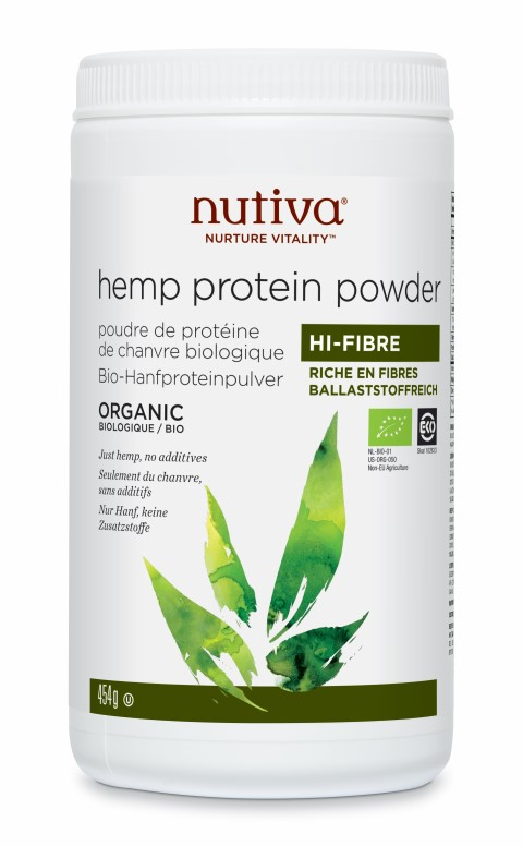 Hemp Protein Powder Hi-Fibre 454g