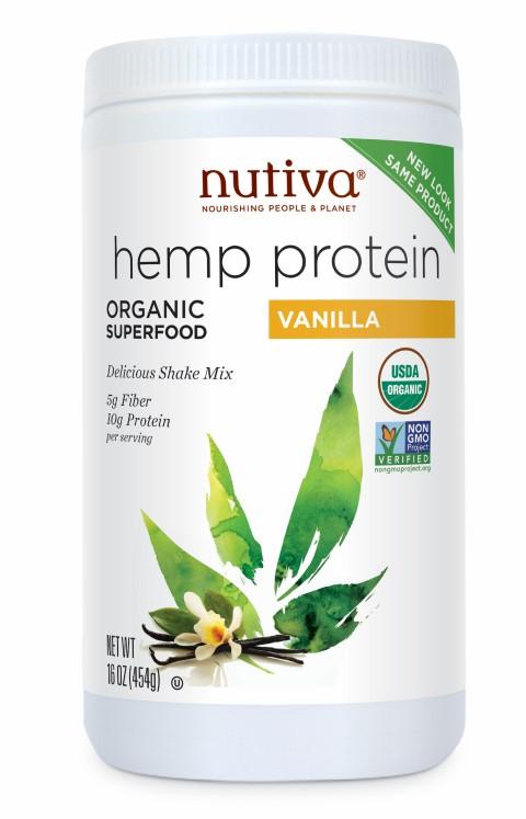 Hemp Seed Protein Organic Vanilla 454g