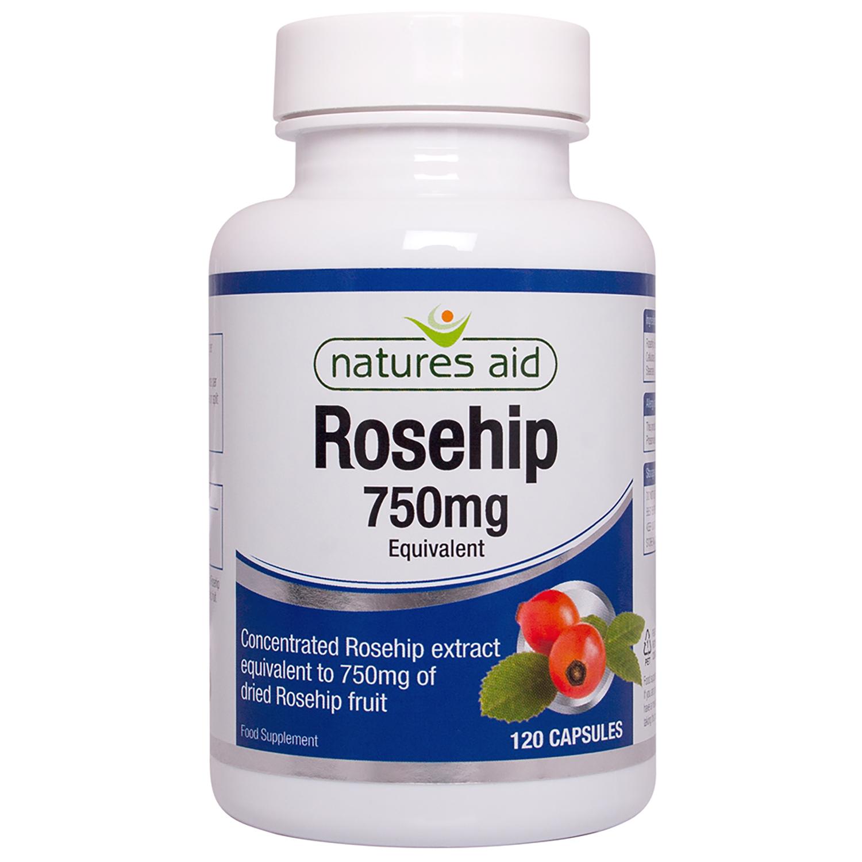 Rosehip 750mg 120's
