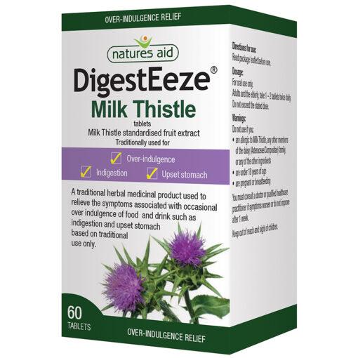 DigestEeze® Milk Thistle 150mg 60's