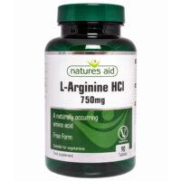 L-Arginine HCl 750mg 90's