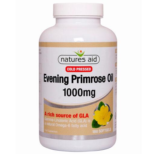 Cold Pressed Evening Primrose Oil 1000mg 180's
