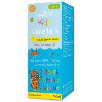 Kidz Omega-3 Natural Lemon Flavour 150ml