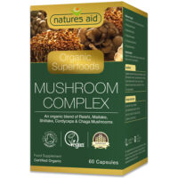 Organic Superfoods Mushroom Complex 60's