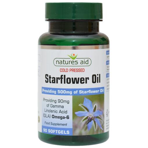 Starflower Oil (Cold Pressed) 500mg 90's