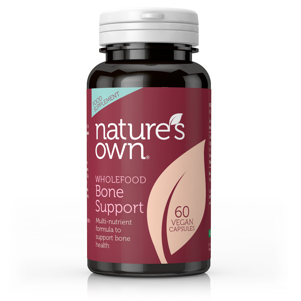 Wholefood Bone Support Multi Nutrient Formula  60's