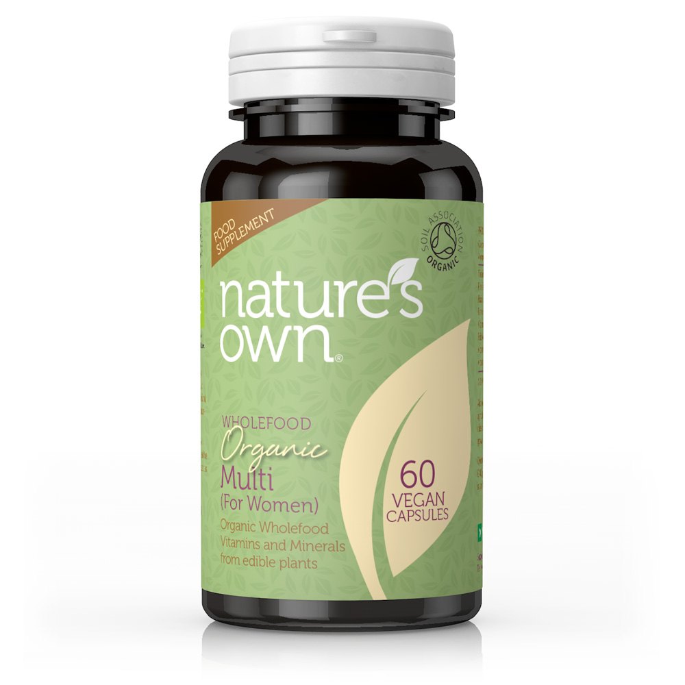 Wholefood Organic Multi for Women 60's