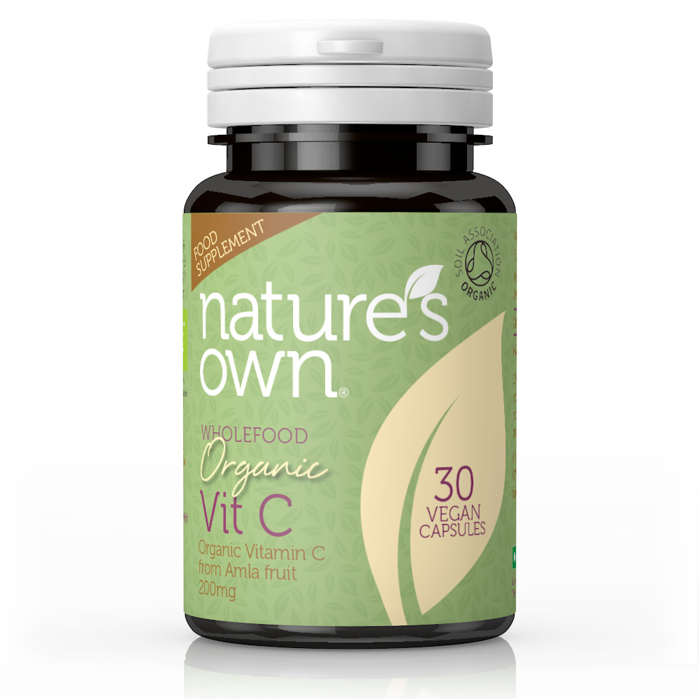 Wholefood Organic Vit C 30's