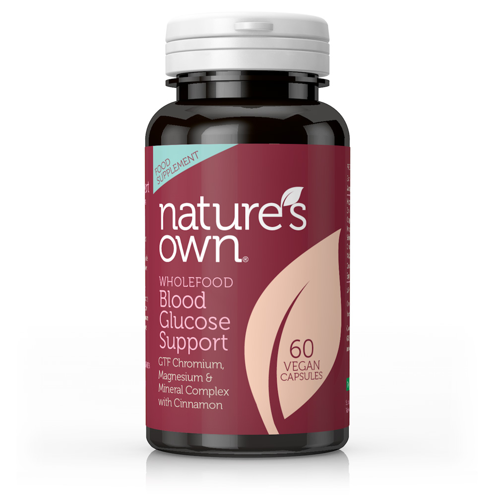 Wholefood Blood Glucose Support 60'S (Currently Unavailable)