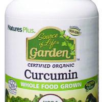 Source of Life Garden Certified Organic Curcumin 30's