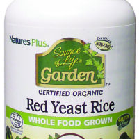 Source of Life Garden Certified Organic Red Yeast Rice 60's