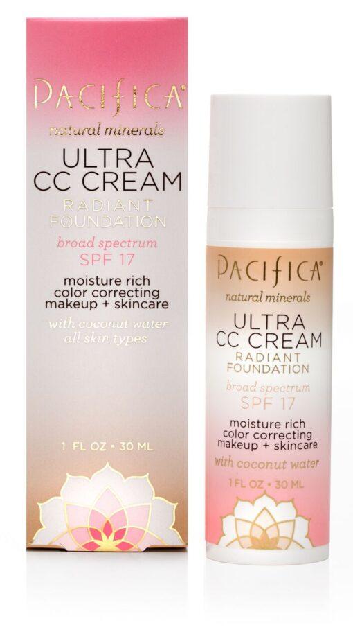 Ultra CC Cream Radiant Foundation SPF17 Light 30ml