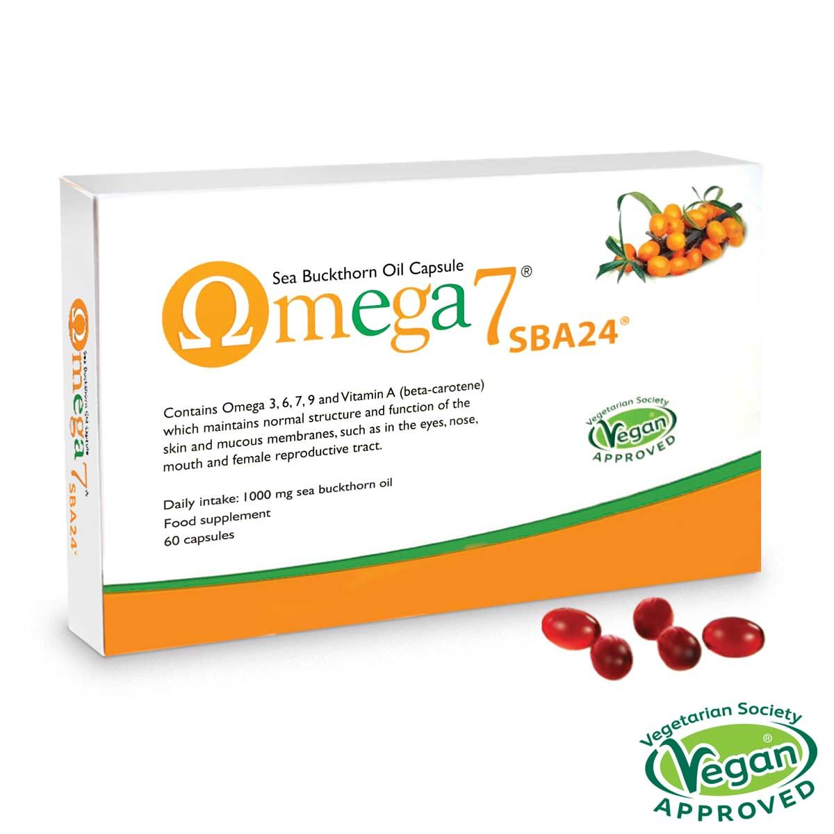 Omega 7 Sea Buckthorn Oil 60's