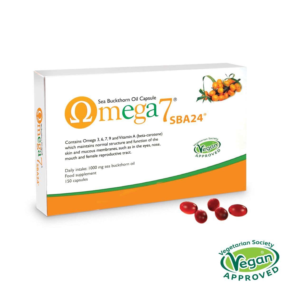 Omega 7 Sea Buckthorn Oil 150's