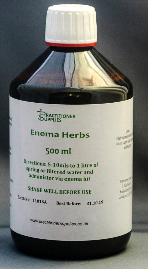 Enema Herbs 500ml