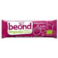 Beond Organic Fruit & Nut  Raspberry & Acai Berry Bar 35g