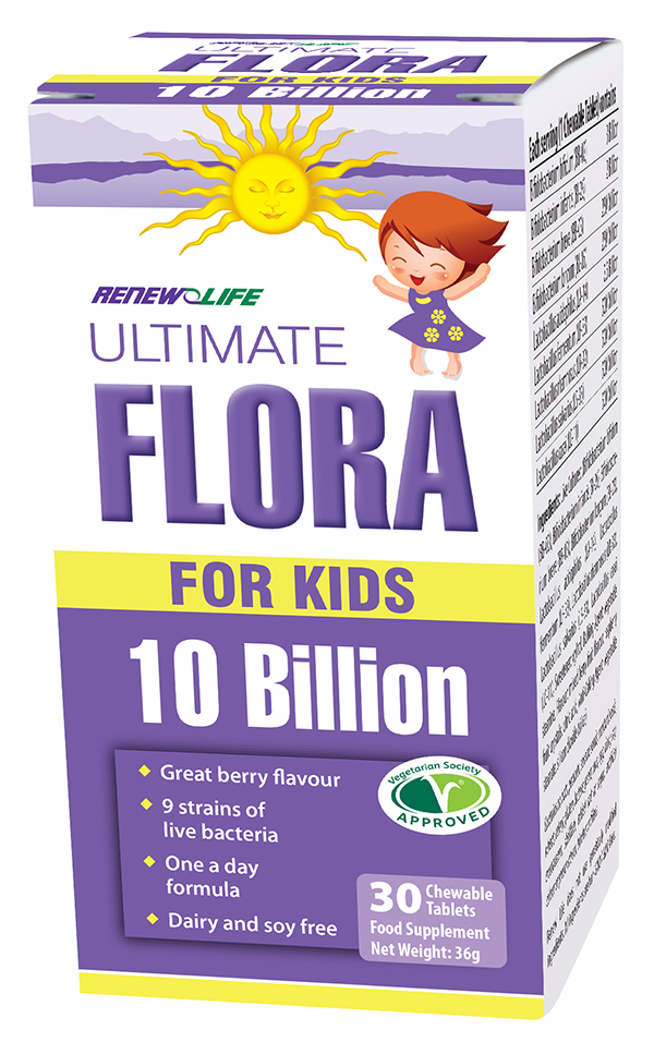 Ultimate Flora for Kids 10 Billion 30's