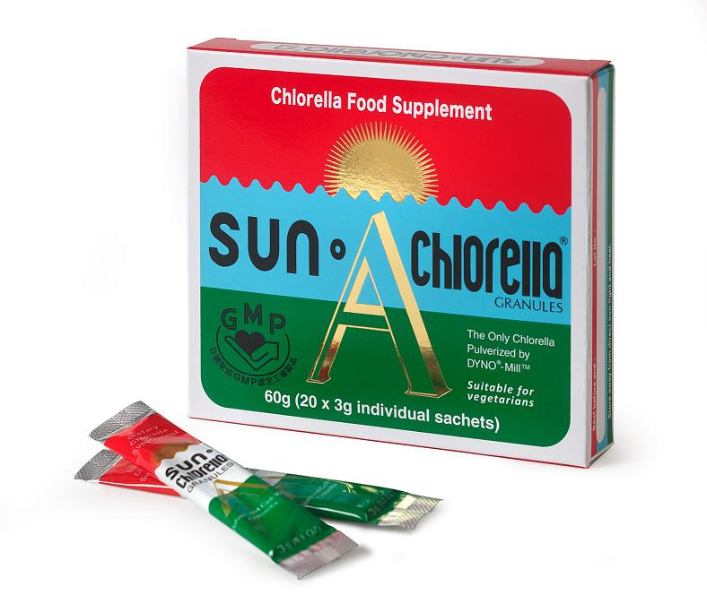 Sun Chlorella Granules 20 x 3g sachets