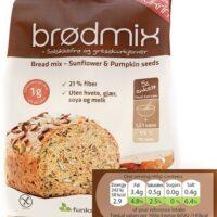Bread Mix Sunflower and Pumpkin Seed 1kg