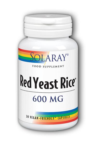 Red Yeast Rice 600mg 30's