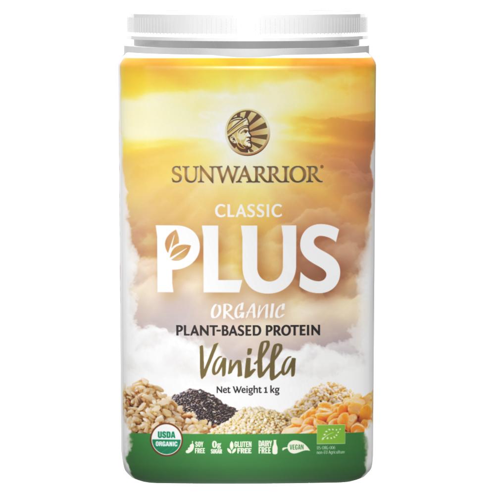 Classic PLUS Organic Protein Vanilla 1kg
