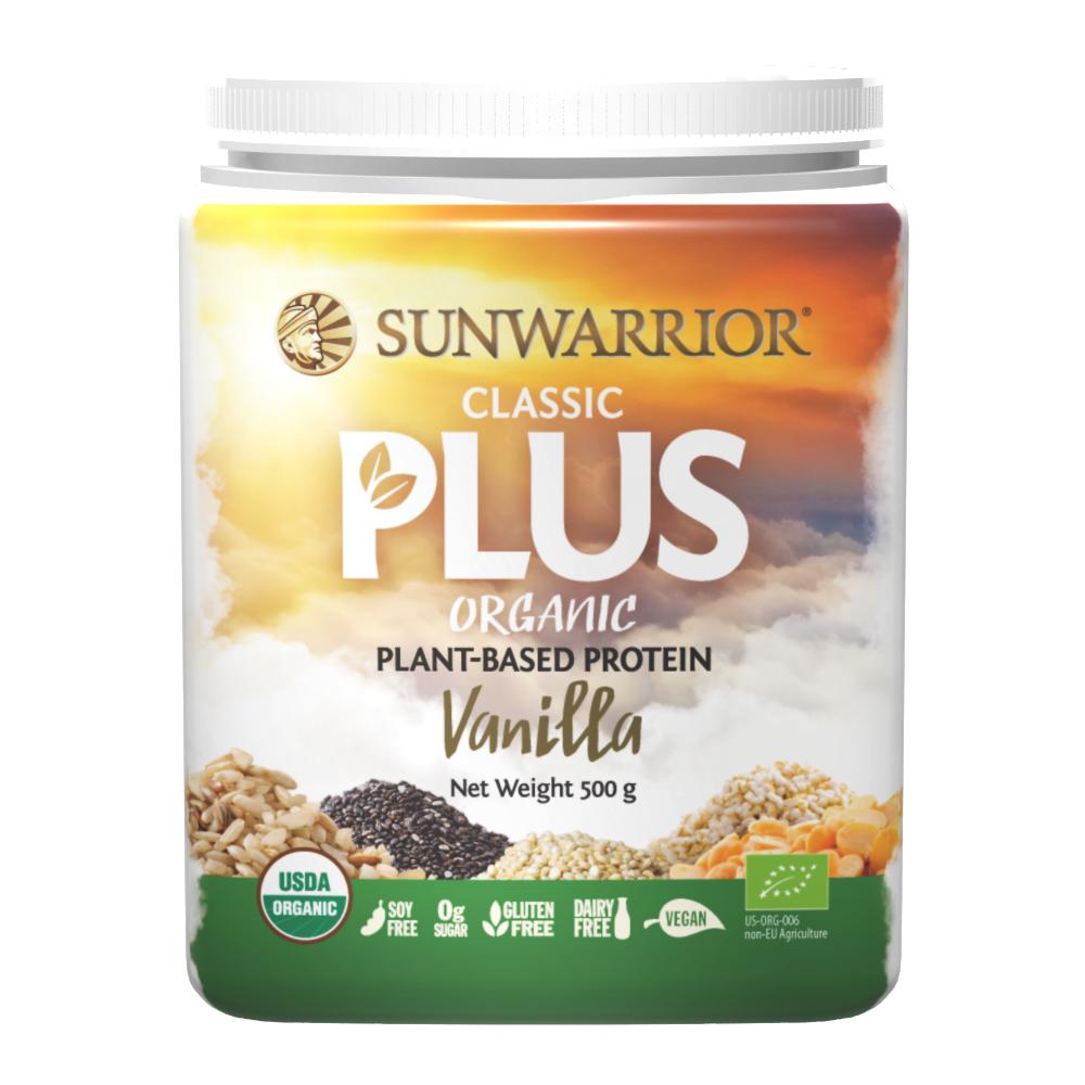 Classic PLUS Organic Protein Vanilla 500g