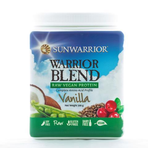 Warrior Blend Raw Vegan Protein Vanilla 500g
