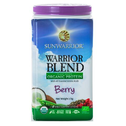 Warrior Blend Plant Based Organic Protein Berry 1kg