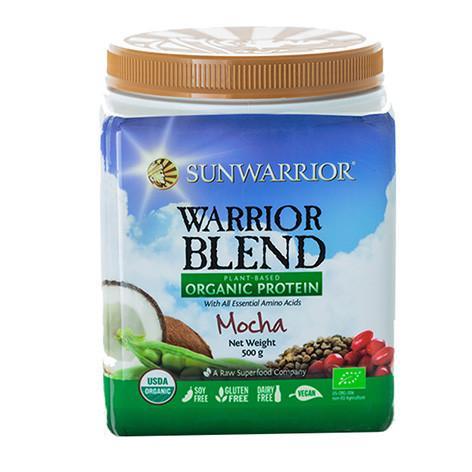 Warrior Blend Plant Based Organic Protein Mocha 500g
