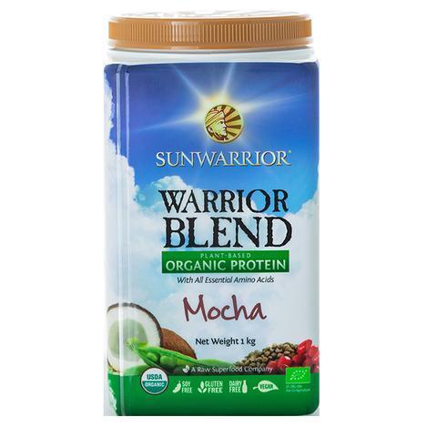 Warrior Blend Plant Based Organic Protein Mocha 1kg