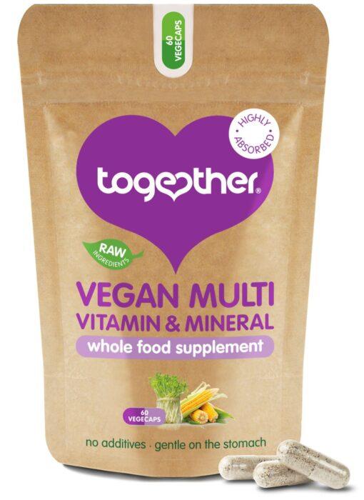 Vegan Multi Vitamin & Mineral 60's