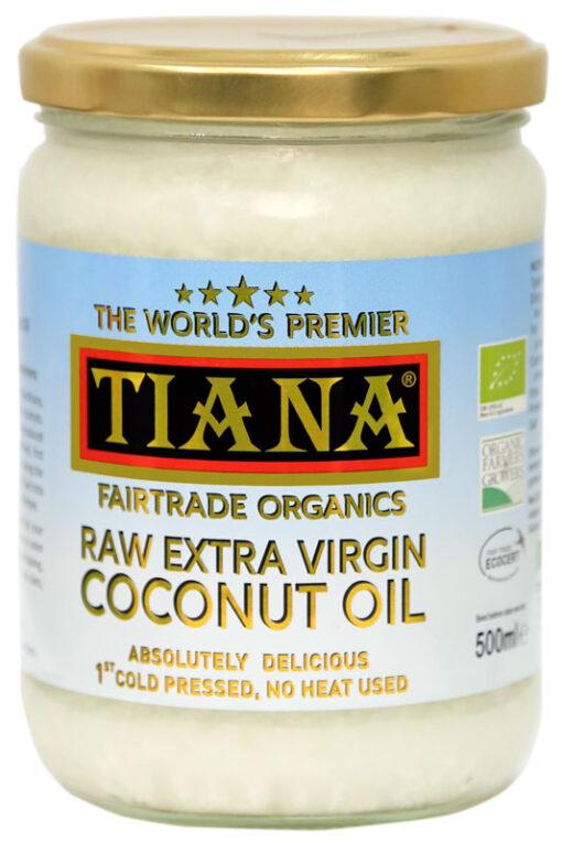 Raw Extra Virgin Coconut Oil 500ml