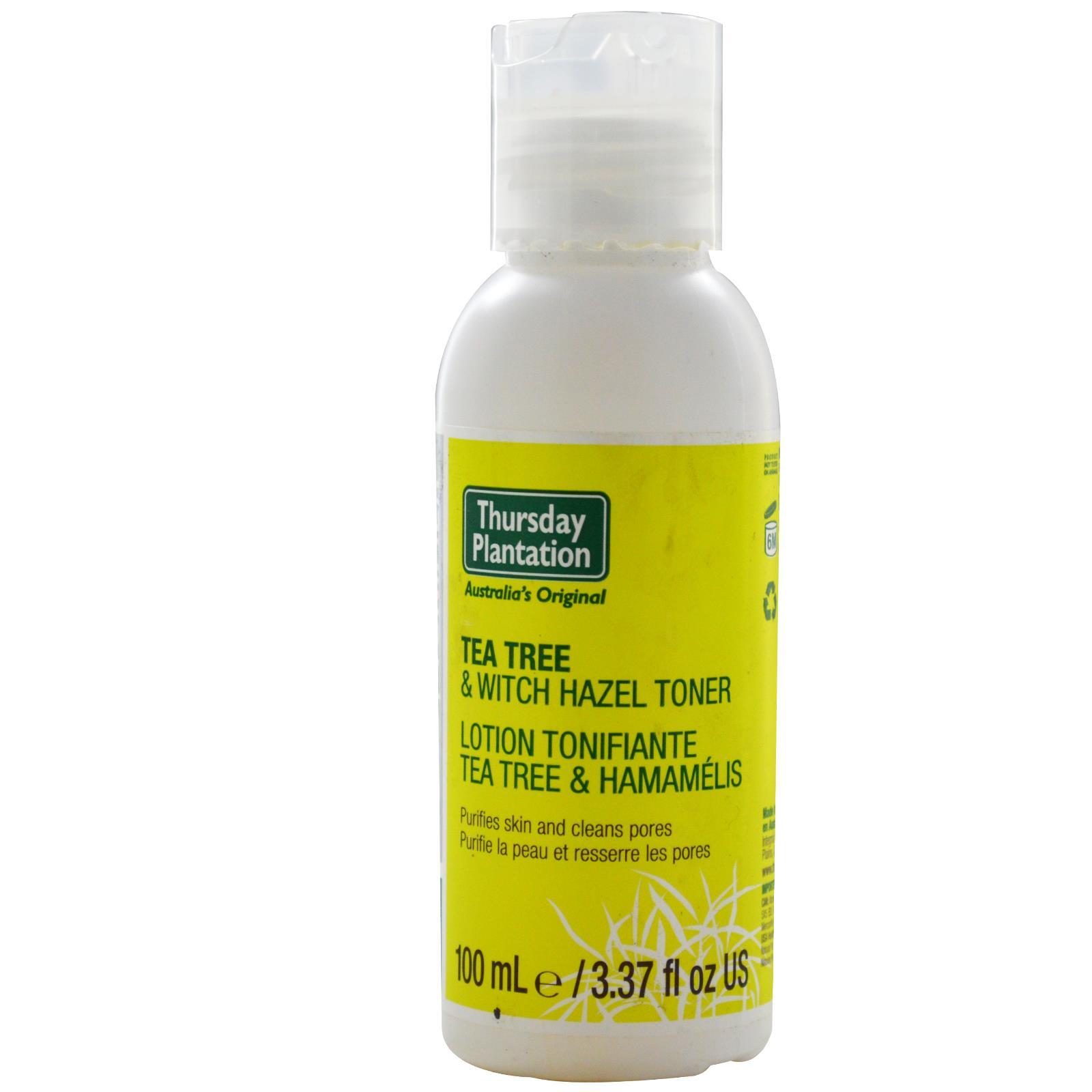 Tea Tree & Witch Hazel Toner 100ml