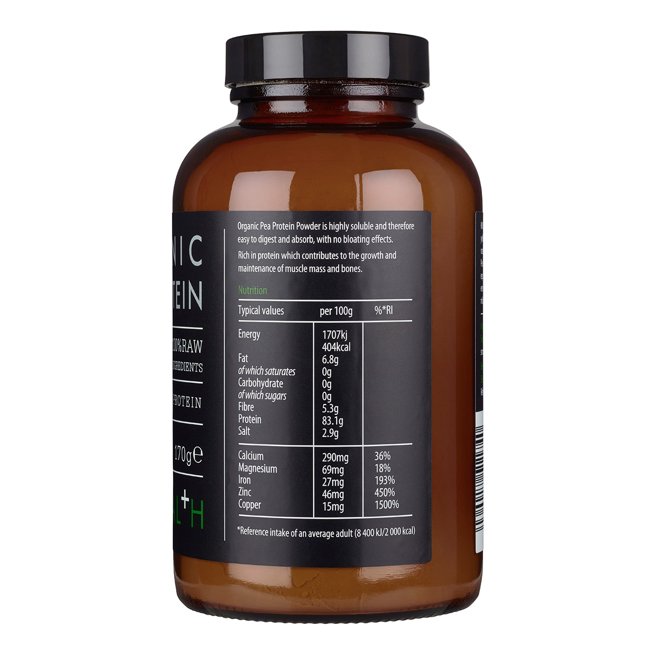 Organic Pea Protein 170g