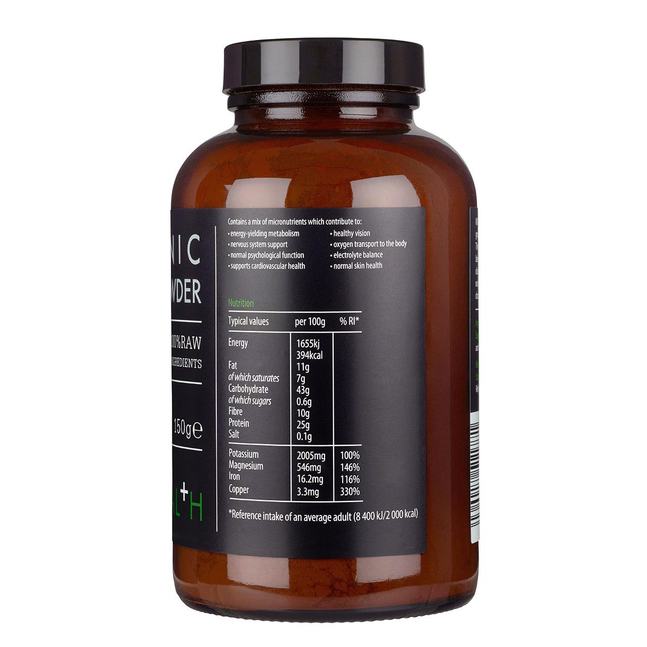 Organic Cacao Powder 150g