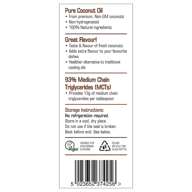 Premium Liquid Coconut Oil 250ml