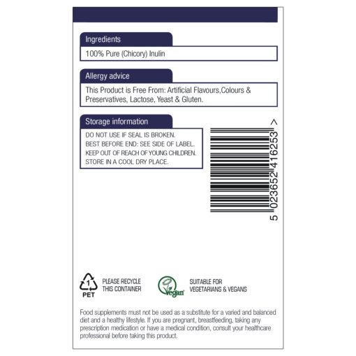 Inulin with FOS 250g (Currently Unavailable)