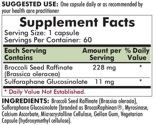 Broccoli Seed Extract 60's