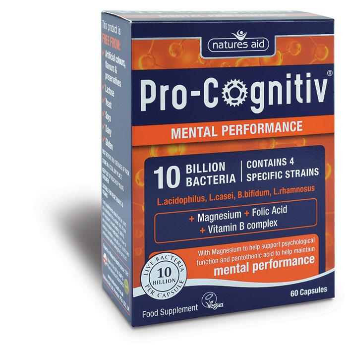 Pro-Cognitiv with Magnesium, Folic Acid & Vitamin B 60's