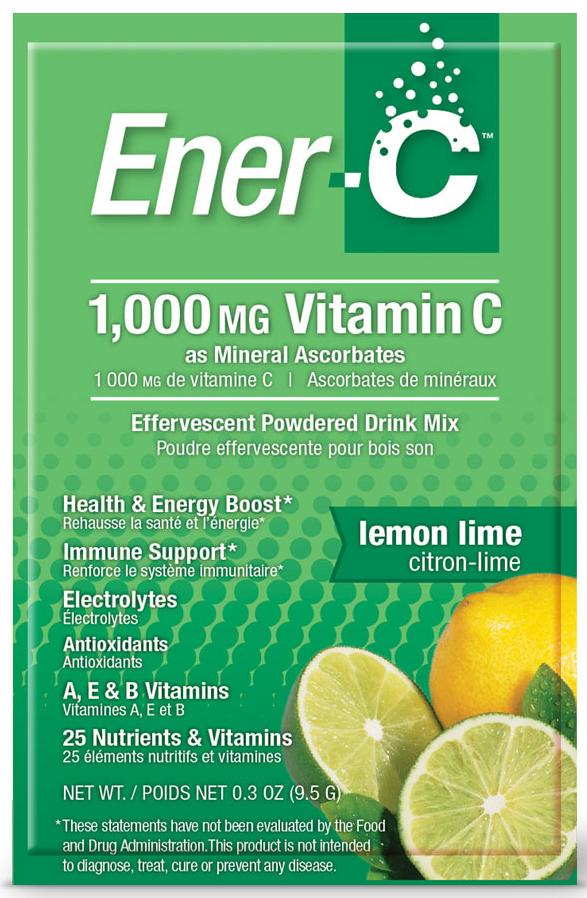 Ener-C Lemon Lime 30 Sachets