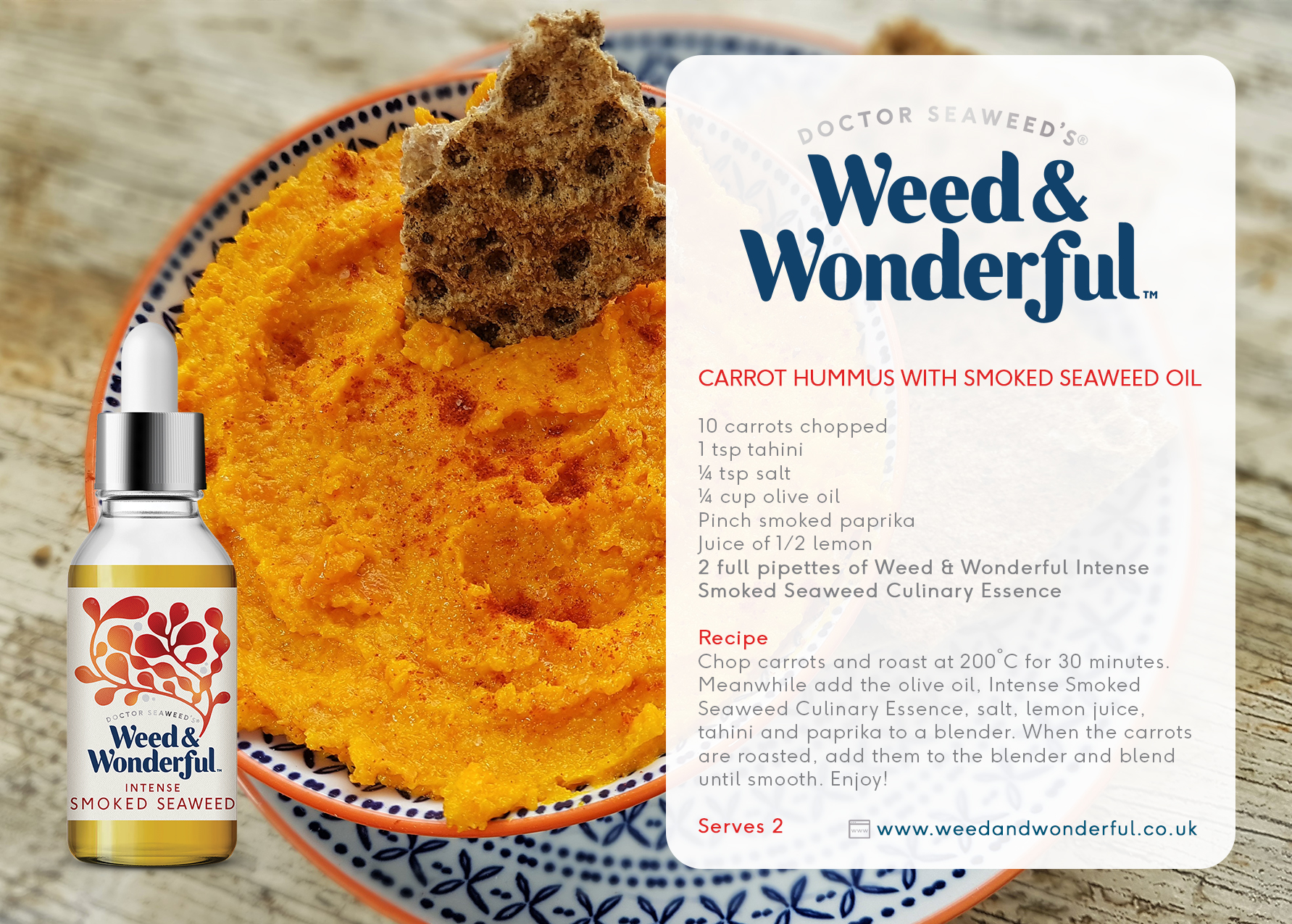 Intense Smoked Seaweed Culinary Essence 50ml