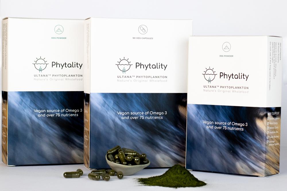 Phytality Ultana Phytoplankton 90 Vegan Caps