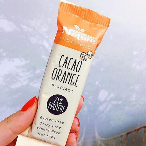 Brilliant Orange Cacao Flapjack (Case of 16)