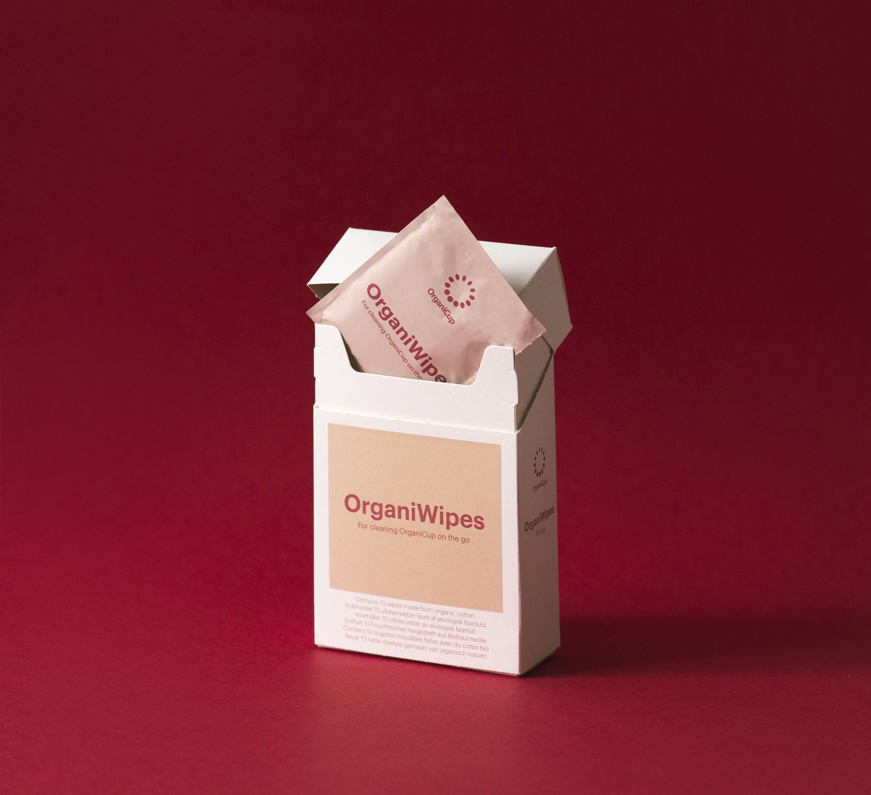 OrganiWipes 10's