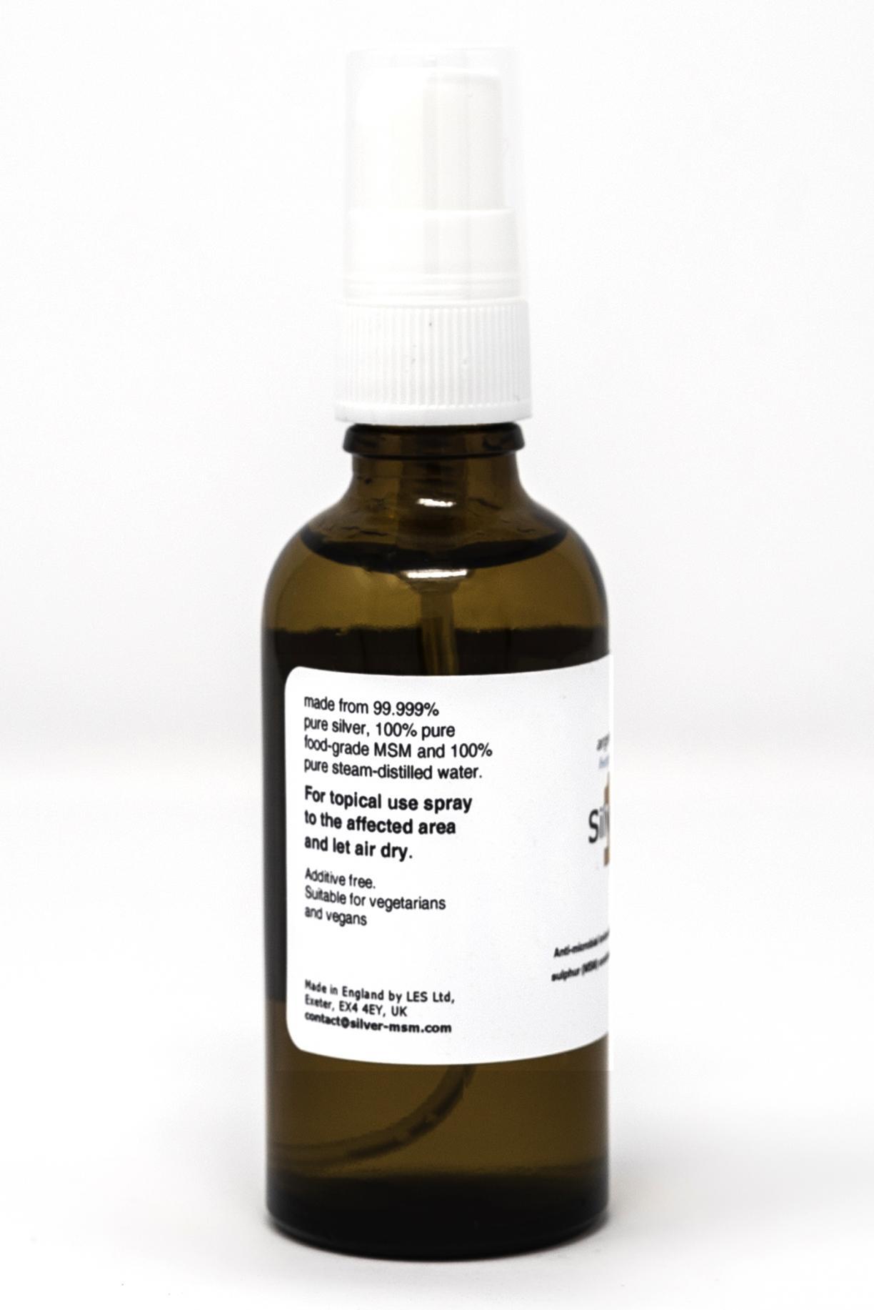 Silver-MSM Spray (10ppm) 50ml