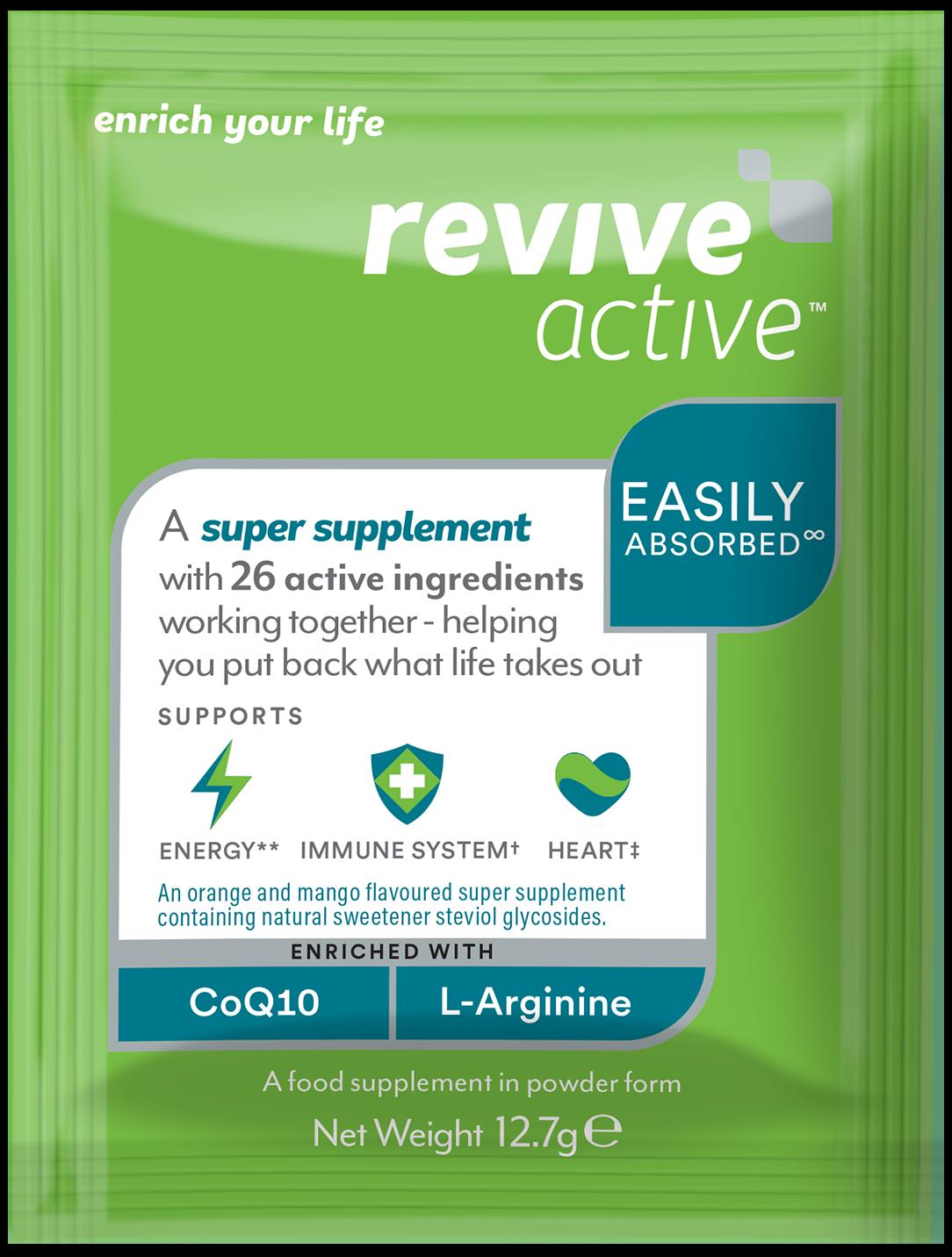 Revive Active 7 sachets (GREEN BOX)