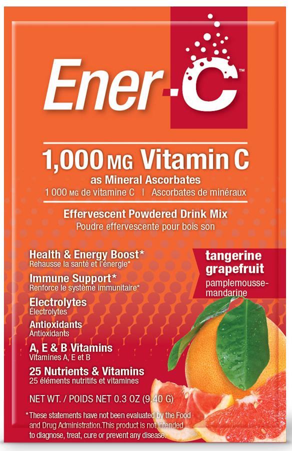 Ener-C Tangerine Grapefruit 30 Sachets