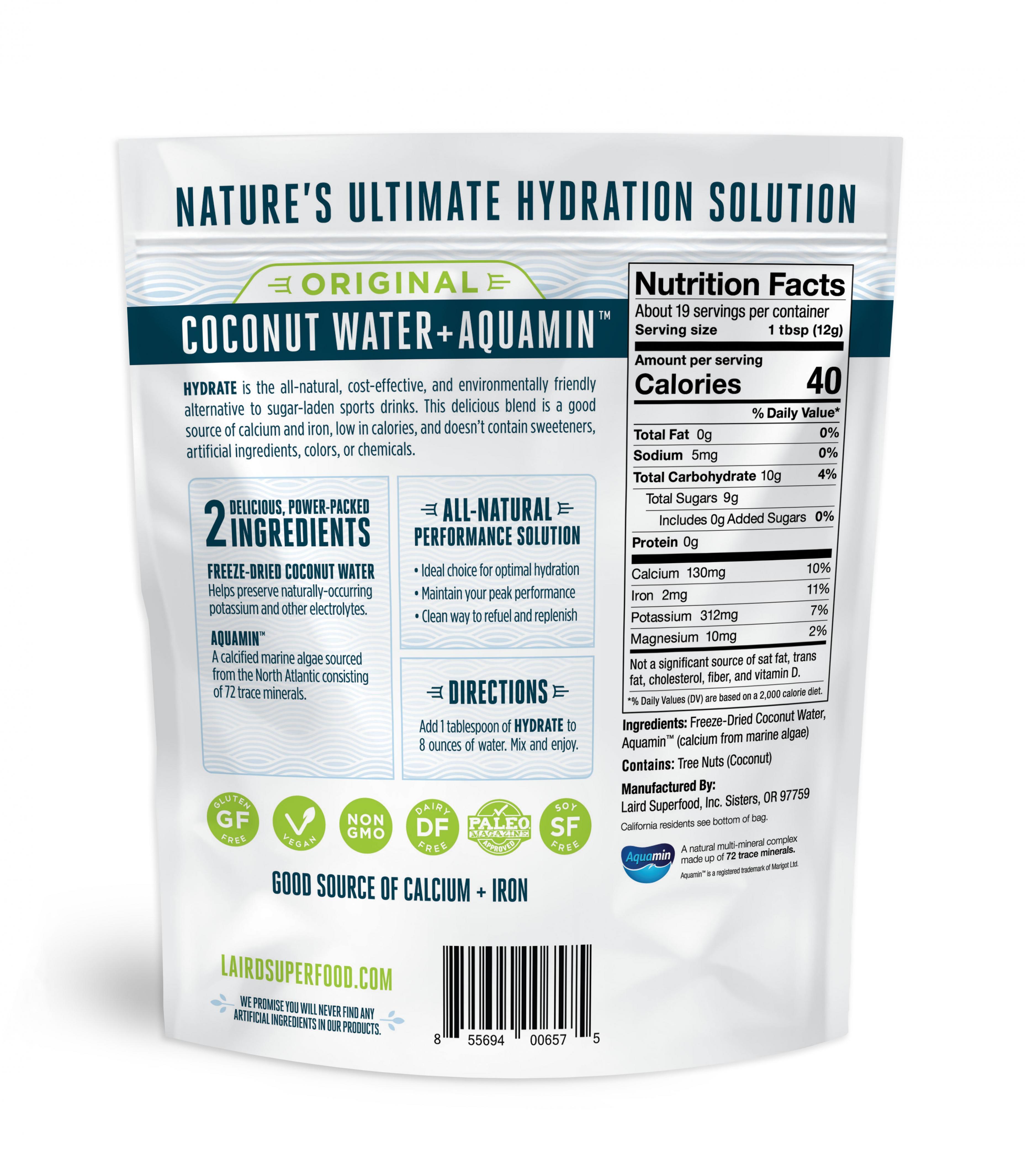 Original Hydrate Coconut Water 227g
