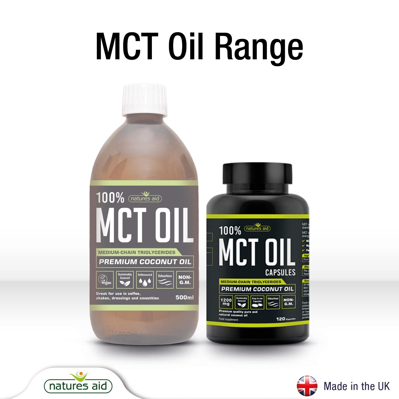 100% MCT Oil (Capsules) 120's